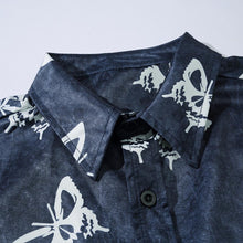 "Load image into Gallery viewer, ""BUTTERFLY"" SHORT SLEEVE SHIRT"