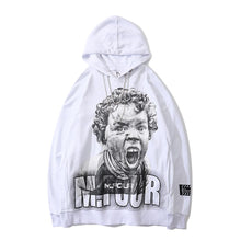 "Load image into Gallery viewer, ""SCREAM BABY"" PRINTED HOODIES"