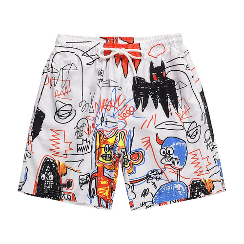GRAFFITI PRINTED SHORTS