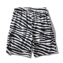Load image into Gallery viewer, ZEBRA PRINTED CARGO SHORTS
