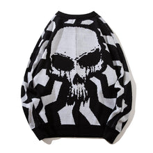 Load image into Gallery viewer, RIPPLE SKULL SWEATER