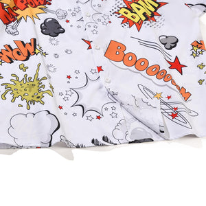 """BOOM"" GRAFFITI SHORT SLEEVE SHIRT"