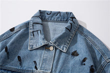 "Load image into Gallery viewer, ""DAILY STYLE"" DENIM JACKET"