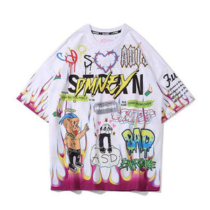 """DMNEY"" GRAFFITI T-SHIRT"