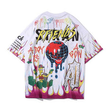 "Load image into Gallery viewer, ""DMNEY"" GRAFFITI T-SHIRT"