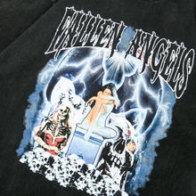 "Load image into Gallery viewer, ""FALLEN ANGELS"" PRINTED T-SHIRT"