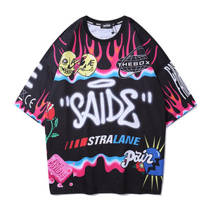 """SAIDE"" GRAFFITI T-SHIRT"