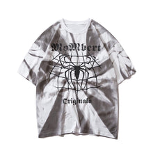 Load image into Gallery viewer, SPIDER PRINTED TIE DYE T-SHIRT