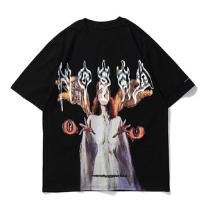 WITCH PRINTED T-SHIRT