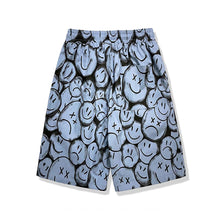 "Load image into Gallery viewer, ""HAPPY SAD"" PRINTED SHORTS"