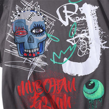 "Load image into Gallery viewer, ""SKULL"" GRAFFITI T-SHIRT"