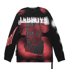 Load image into Gallery viewer, VAMPIRE BLOOMING PRINTED SWEATSHIRT