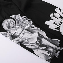 "Load image into Gallery viewer, ""FISHING ANGEL"" GRAFFITI PRINTED JOGGERS"