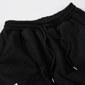 BIG POCKET SUEDE JOGGERS