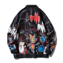 "Load image into Gallery viewer, ""DEVIL GRAFFITI"" PRINTED JACKET"