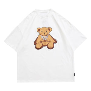 EMBROIDERY BEAR T-SHIRT