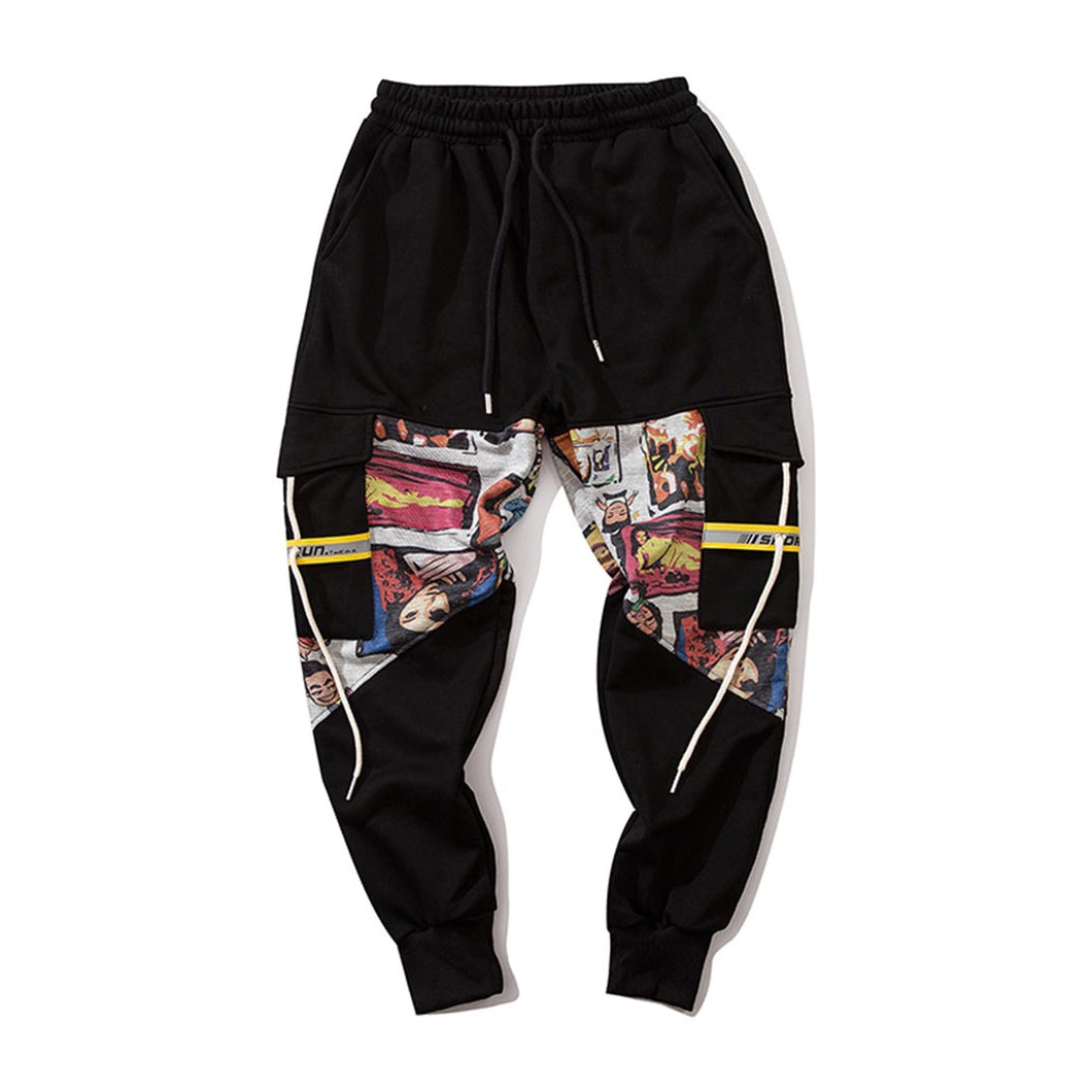 ANIMATIO PRINTED JOGGERS