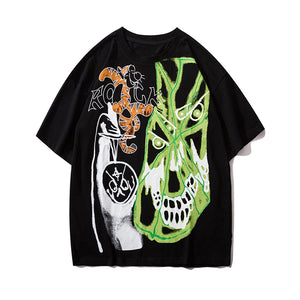 """ROCK"" GRAFFITI T-SHIRT"