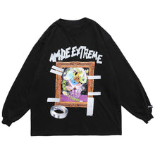 "Load image into Gallery viewer, ""PHOTO FRAME"" PRINTED SWEATSHIRT"