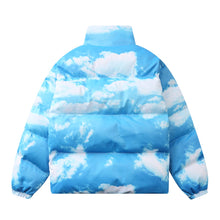 "Load image into Gallery viewer, ""CLOUDY SKY"" PRINTED COTTON JACKET"