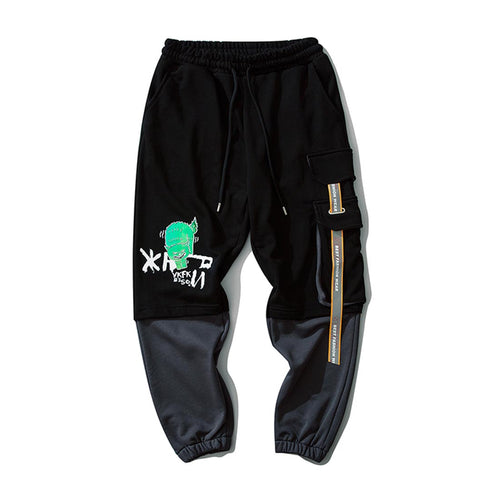 REFLECTIVE RIBBONS JOGGERS