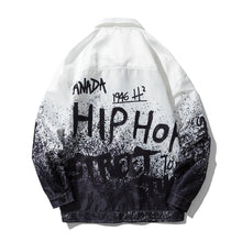 "Load image into Gallery viewer, ""HIP HOP"" PRINTED JACKET"
