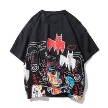 Load image into Gallery viewer, STREET GRAFFITI PRINTED T-SHIRT