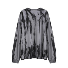 "Load image into Gallery viewer, ""SILENCCE"" PRINTED TIE DYE SWEATSHIRT"