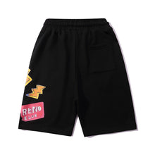 "Load image into Gallery viewer, ""RETRO CLUB"" PRINTED SHORTS"