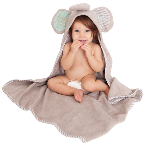 Baby Towel - Zoocchini Elle the Elephant