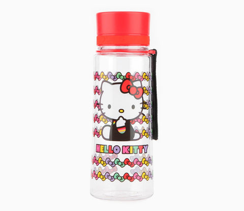 Water Bottle Hello Kitty Black (16378)