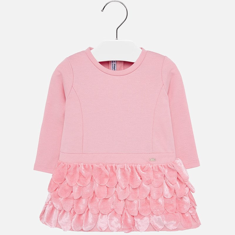 Baby Dress L/S Mayoral Rose Petals 2907