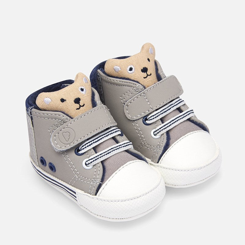 Baby Sporty Trainer Shoes Mayoral 9210 Silver