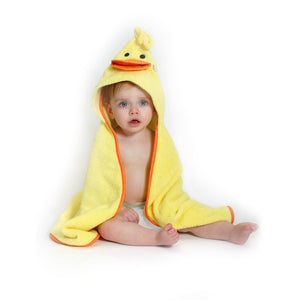 Baby Towel - Zoocchini   Puddles the Duck