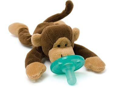 Wubbanub Soother  Monkey
