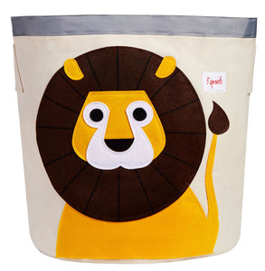 Storage Bin 3 Sprouts Lion
