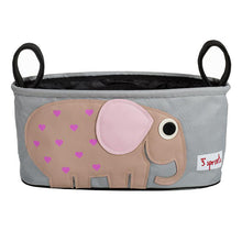 Stroller Organizer  3 Sprouts Pink Elephant