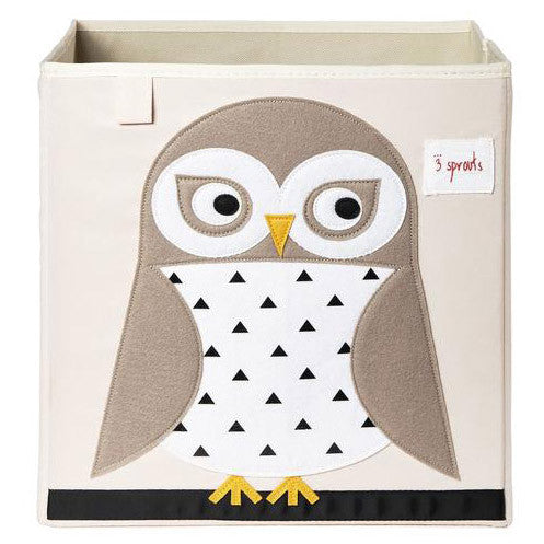 Storage Box  3 Sprouts Owl