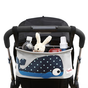 Stroller Organizer 3 Sprouts Whale