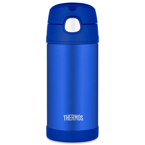 Thermos 12oz Insulated Straw Water Bottle -  Blue (F4013BL6)