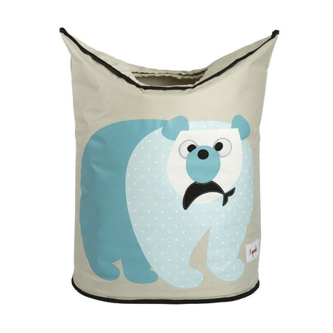 Polar Bear Laundry Hamper  3 Sprouts