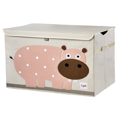 Hippo Pink Toy Chest  3 Sprouts