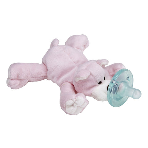 Wubbanub Soother  Pink Bear