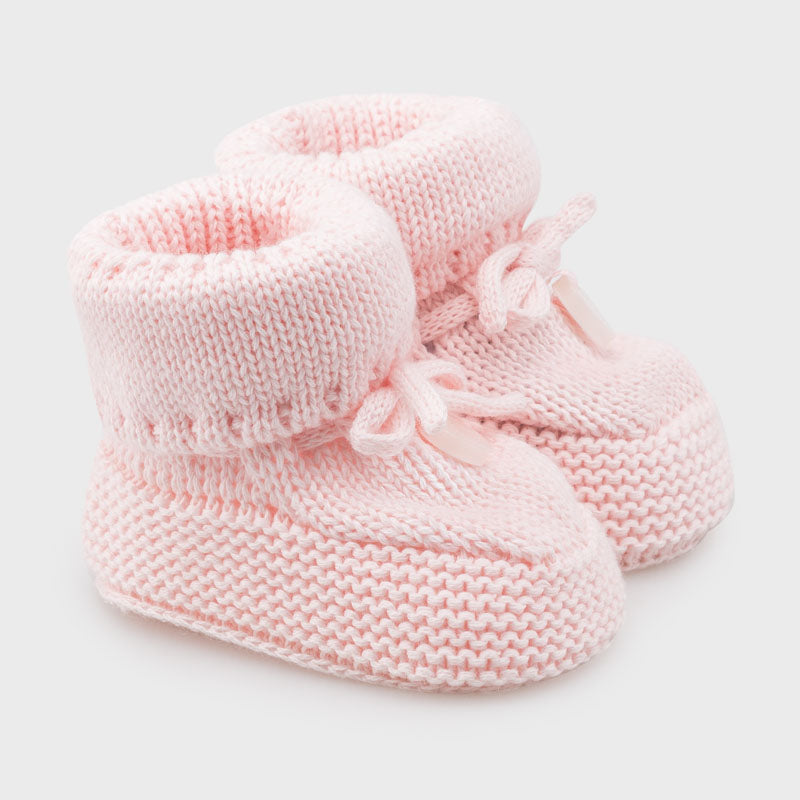 Baby Booties Mayoral 9347 Baby Pink