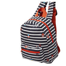 Mini Backpack Joules Navy Animals