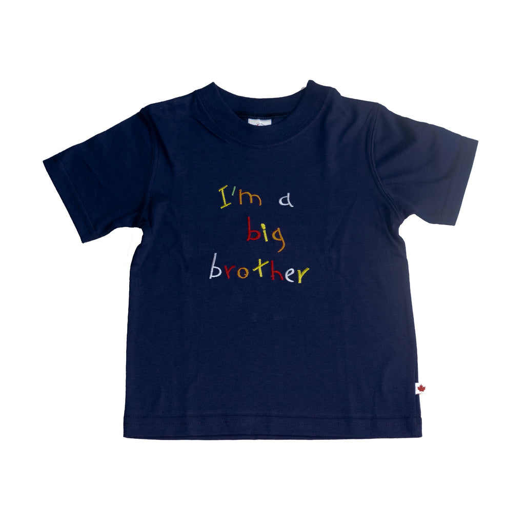 T-Shirt - BC Big Brother Navy
