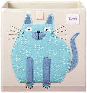 Storage Box  3 Sprouts Cat