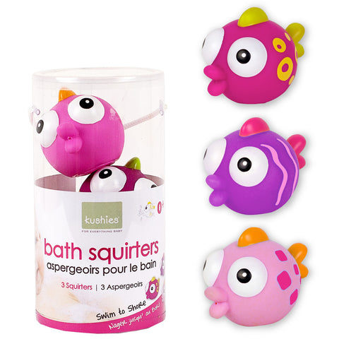 Bath squirters-Kushies Swim to shore