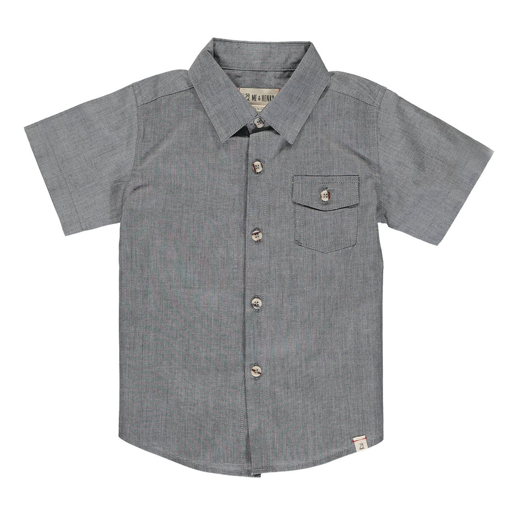 Shirt Me & Henry Pale Grey