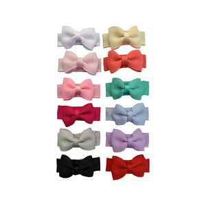 Hair clips - Baby Wisp Small Snap Chic 12 Pack Essentials